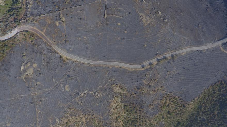 L'incendi del Cap de Creus, a vista de dron