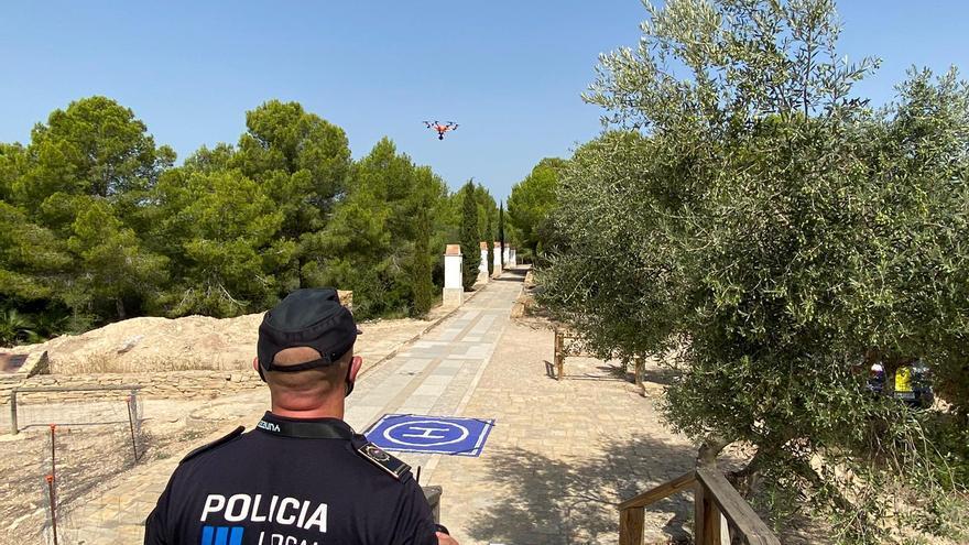 La Policía Local de Vinaròs incorpora un dron para evitar incendios