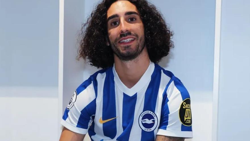 Cucurella, confirmado como nuevo jugador del Brighton