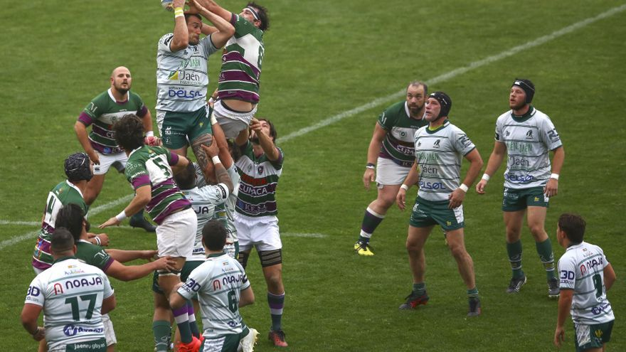 El Club de Rugby Málaga consigue la victoria en una jornada de estreno