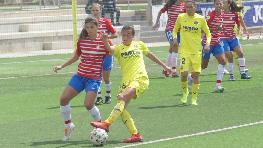 El Villarreal femenino ya roza el ascenso a Primera División tras empatar ante el Granada (2-2)