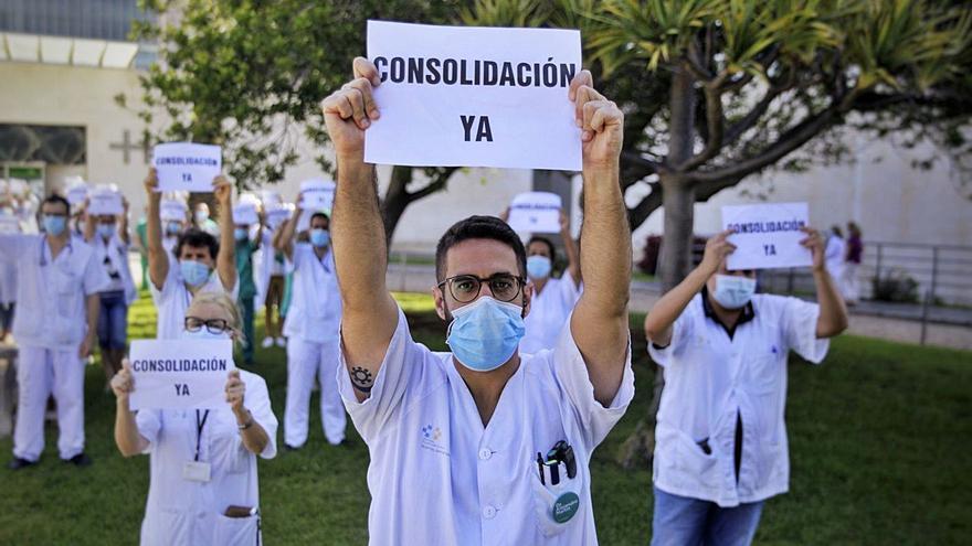 Fracasa el intento 'in extremis' del  SCS para frenar la huelga de médicos