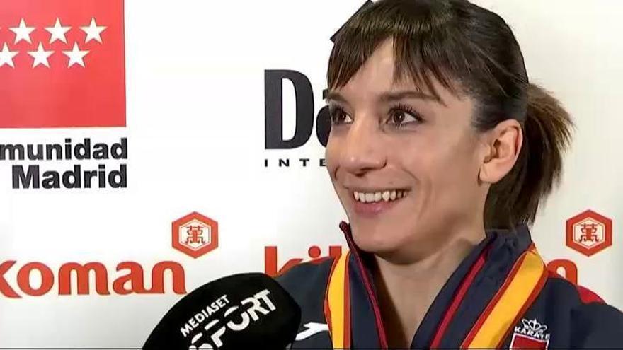 Sandra Sánchez, Damián Quintero y Babacar Seck, oro, plata y bronce en el Mundial de kárate