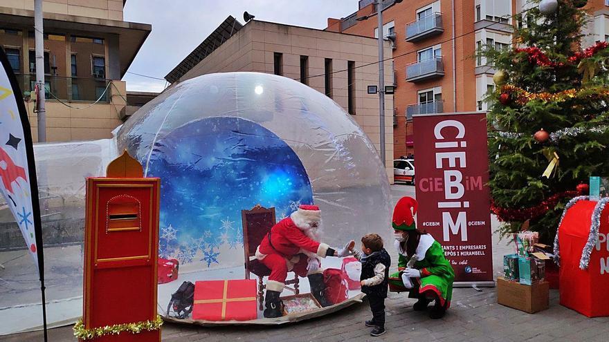 Papa Noel llega a Bonrepòs y Almàssera en una burbuja