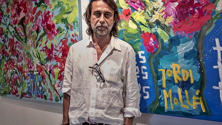 Jordi Mollà le dice «sí a la vida» con una exposición en Nuru Gallery de Palma