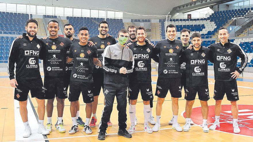 El Palma Futsal firma un acuerdo con la Fundación Mallorca Integra