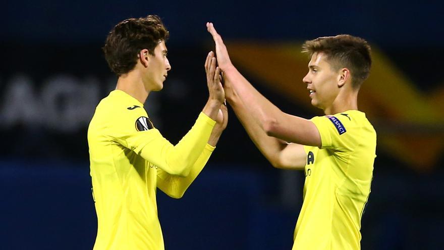 El Villarreal encarrila la eliminatoria con un gol de penalti ante el Dinamo de Zagreb