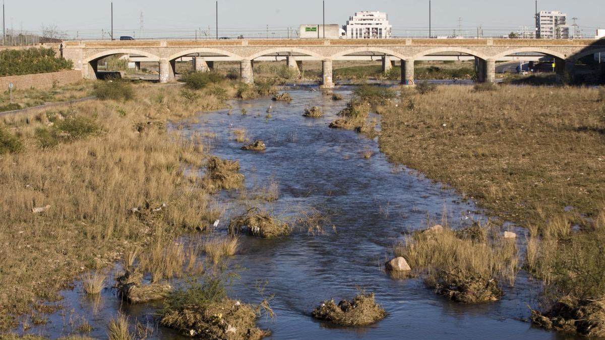 Imagen de archivo del río Palancia.