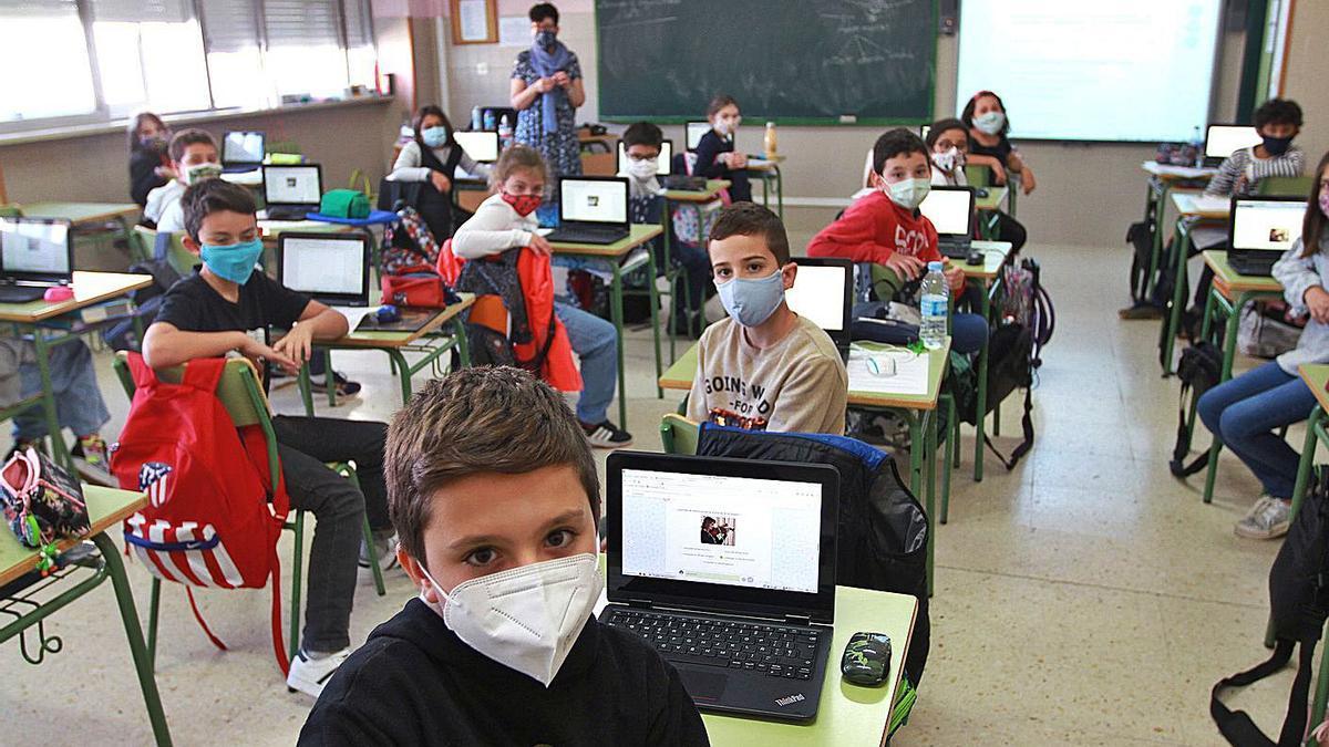 Alumnos en una clase. |   // IÑAKI OSORIO