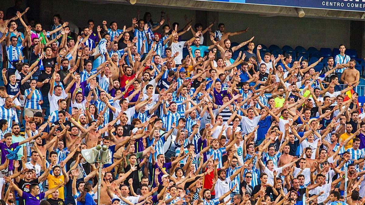 La afición del Málaga CF regresará a La Rosaleda para el comienzo de la temporada 2021/22. | MÁLAGA CF