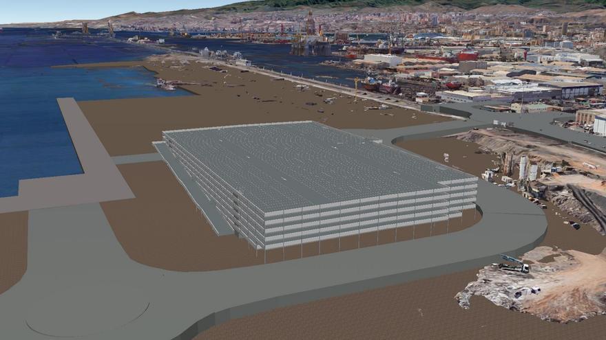 La terminal de coches de Domingo Alonso recibe el visto bueno del Puerto