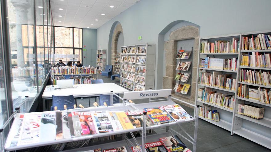 La Diputació de Girona ajuda amb 350.000 euros vuit biblioteques públiques