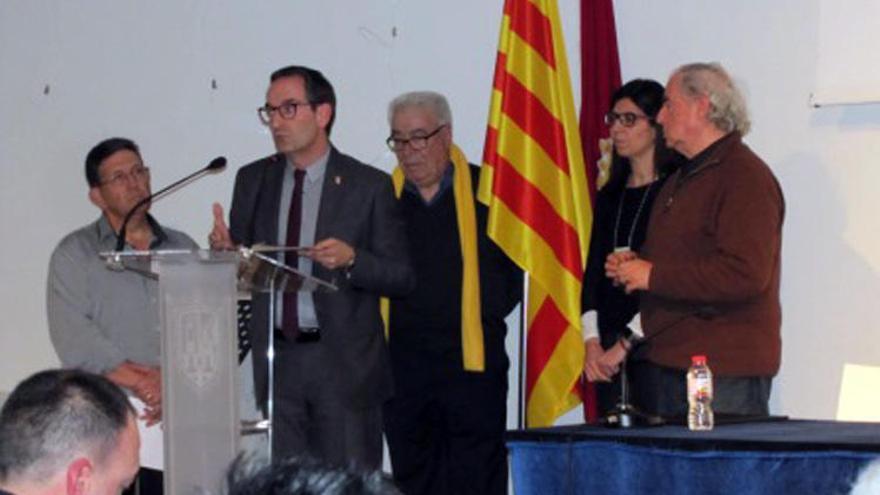 Sant Fruitós lliura el premi Montpeità a títol pòstum a Josep Noguera 'Fusteret'