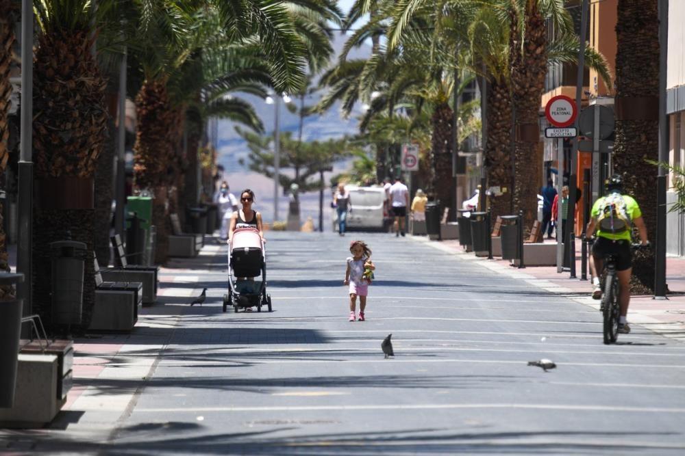 Desescalada en Santa Catalina y Las Canteras