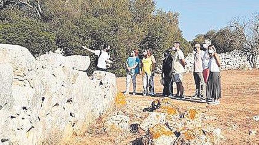 Segunda campaña de trabajo en el poblado talayótico de Antigors de  ses Salines