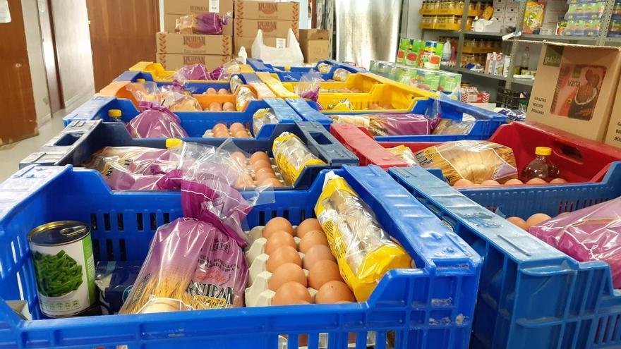 Aumenta un 33% los usuarios del banco de alimentos de Torrent durante la alerta
