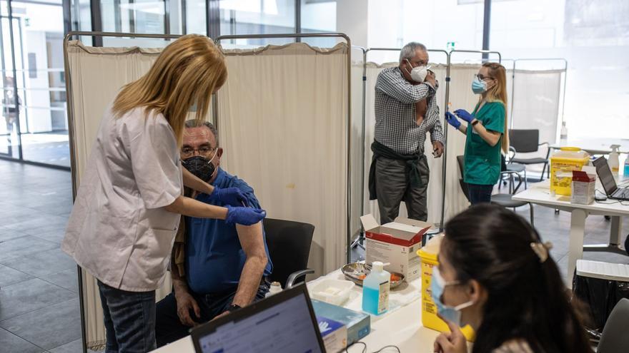 Estos son los horarios para la generación del 56 que se vacuna hoy, sábado en Zamora capital