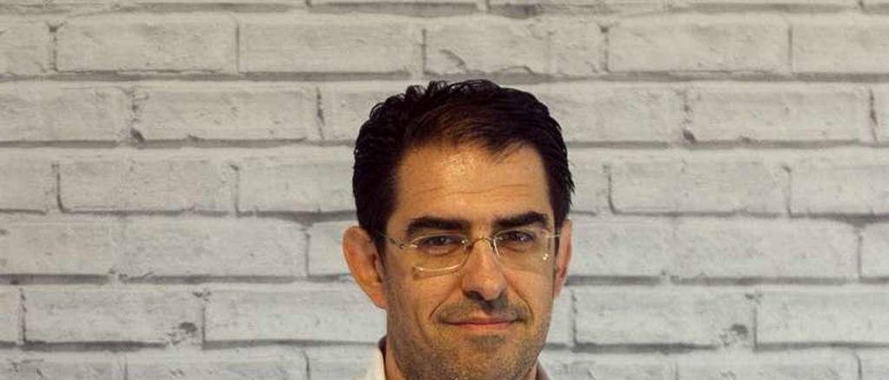 Fernando Gómez, en las instalaciones de Boardfy. // Marcos Canosa