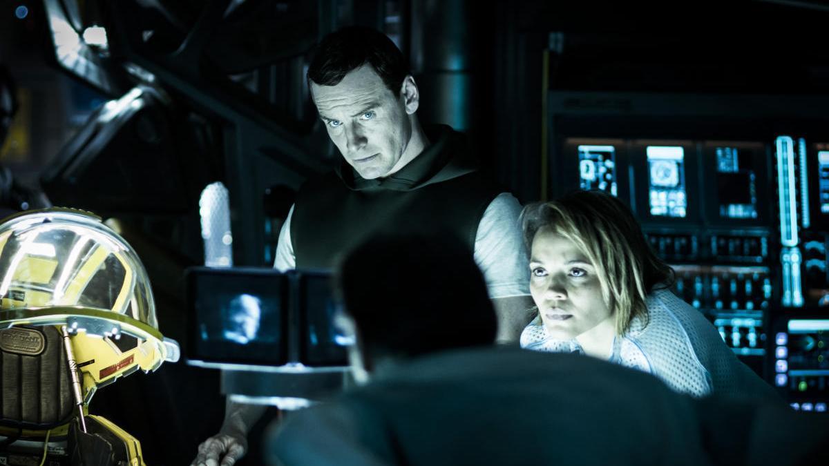 Imagen de 'Alien: Covenant', protagonizada por Michael Fassbender