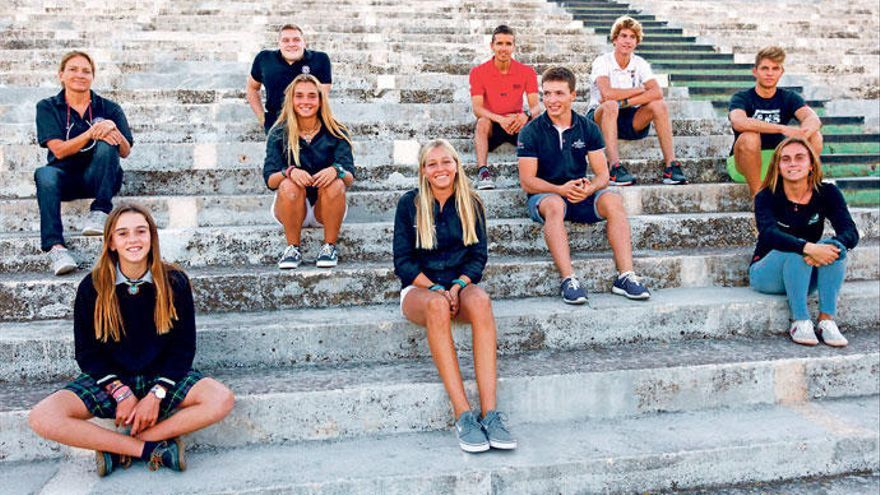 Diese jungen Balearen segeln an die Weltspitze
