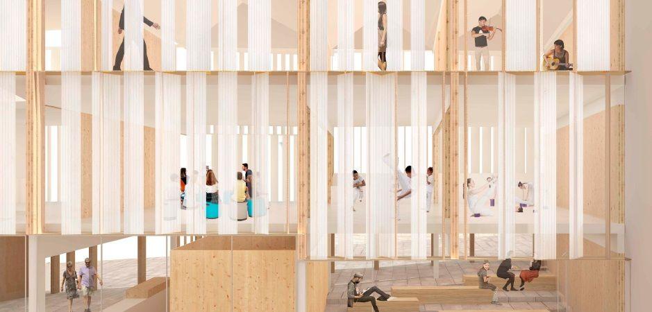 Así será el nuevo entorno de la Colegiata: simbiosis de memoria y futuro