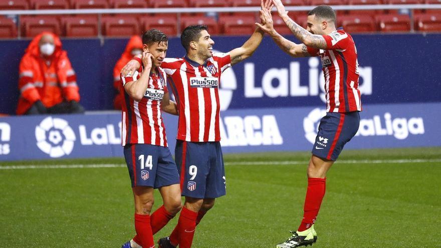 El Atlético de Madrid resurge ante el Elche