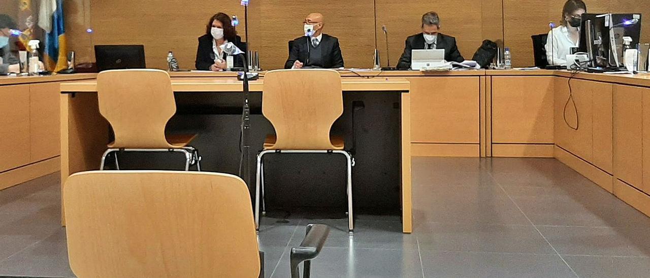 El tribunal que absolvió al investigado el día del juicio en su contra.     LP/DLP