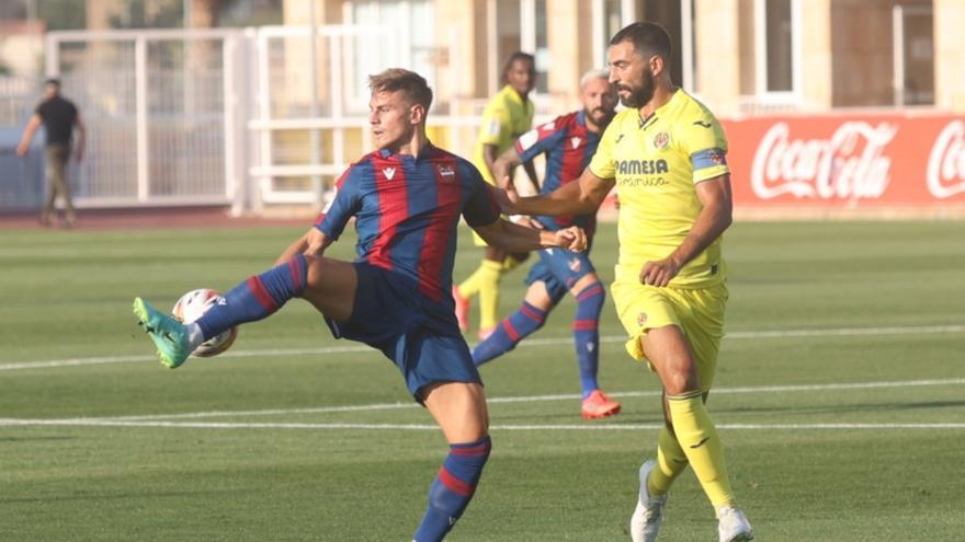 El Villarreal empata con el Levante en el tercer amistoso de pretemporada (0-0)