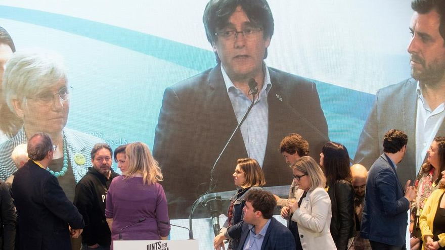 Puigdemont logra casi 7.000 votos en la Comunitat Valenciana