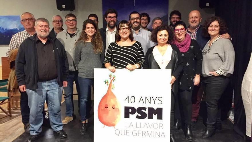 El PSM celebra sus 40 años