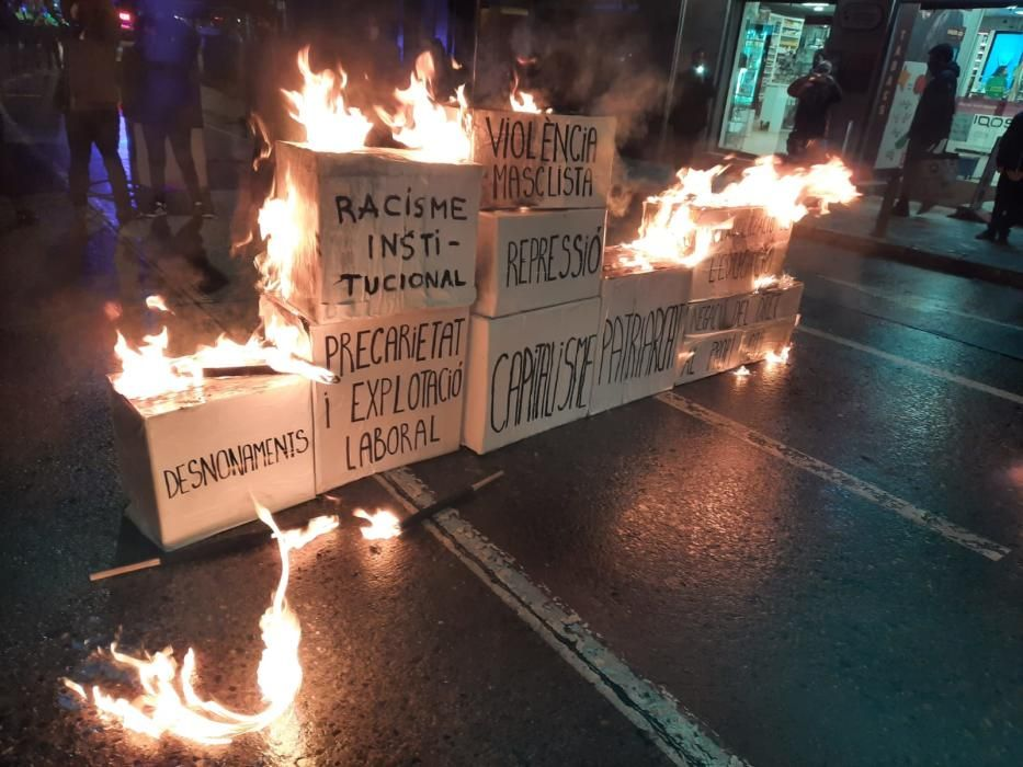 Manifestació del 8-M a Manresa a la tarda