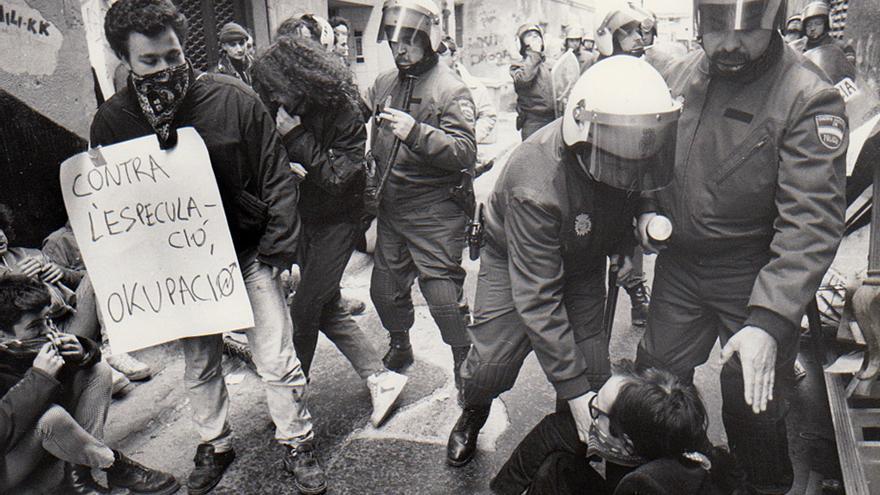 Cuando el movimiento okupa llegó a València