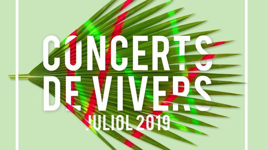 Los conciertos de Viveros arrancan este domingo con 18 espectáculos