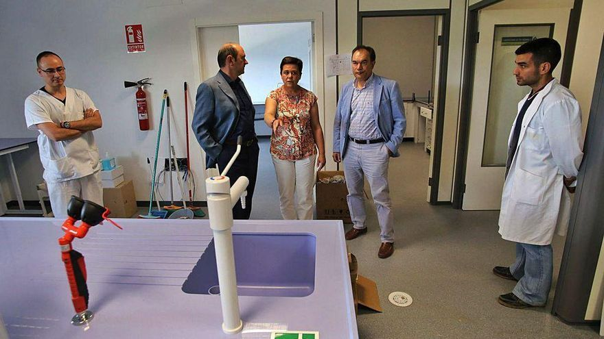 Crespo celebra los 60 empleos de Galitec y anuncia dos firmas más para el polígono