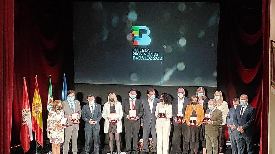 Las Medallas de Oro de la Provincia de Badajoz refuerzan el municipalismo
