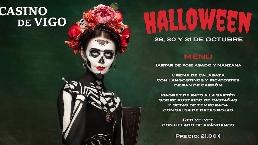 Vuelve Casino de Vigo con un planazo para Halloween