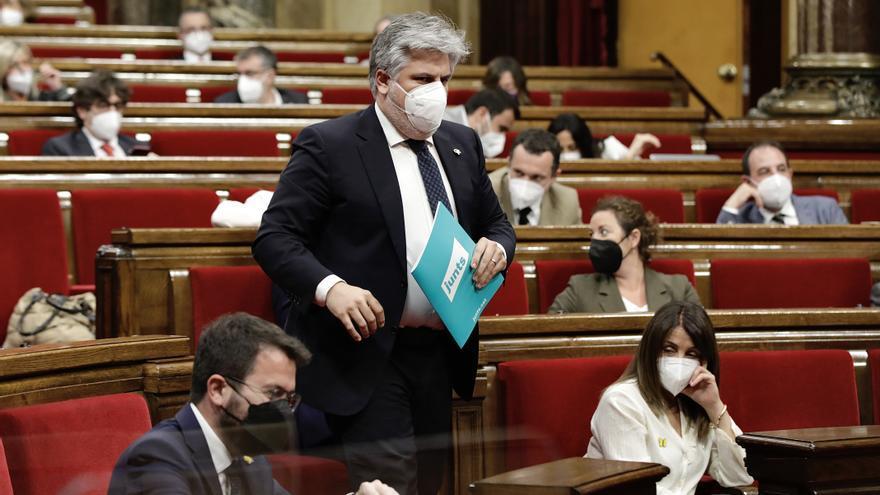 """Aragonès respon a Batet que la voluntat d'avançar cap a la independència és """"més forta"""" que el que separa a ERC i Junts"""