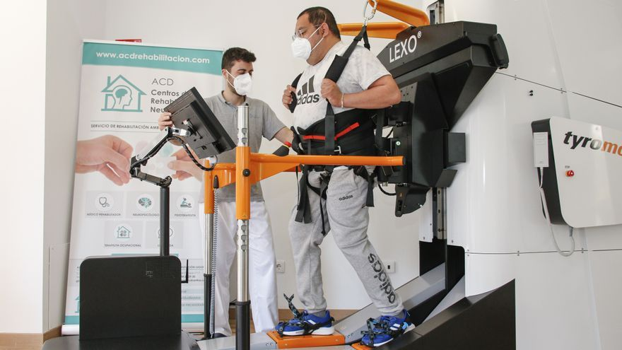 La rehabilitación con robótica ya es una realidad en Asturias