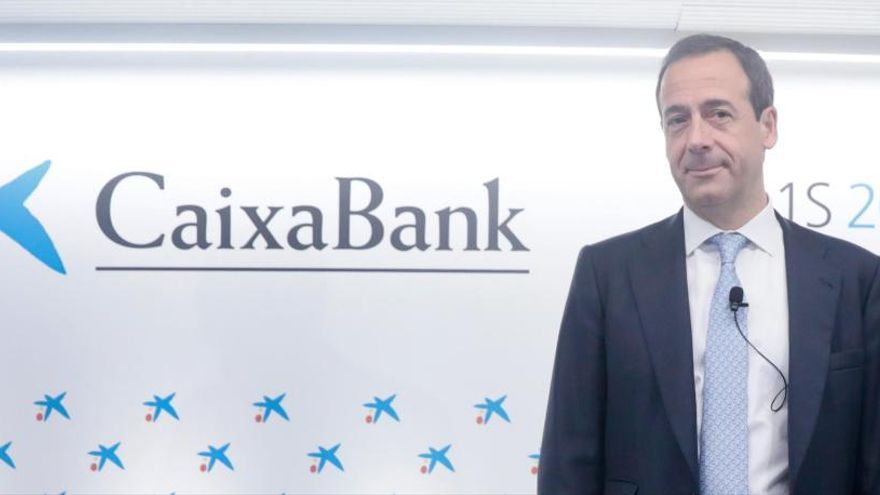 El consejero delegado de CaixaBank, Gonzalo Cortázar.