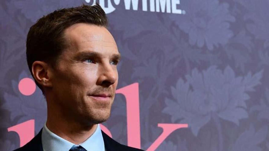 Benedict Cumberbatch no trabajará si cobra más que sus compañeras