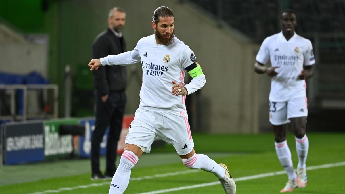 El central andaluz, Sergio Ramos.