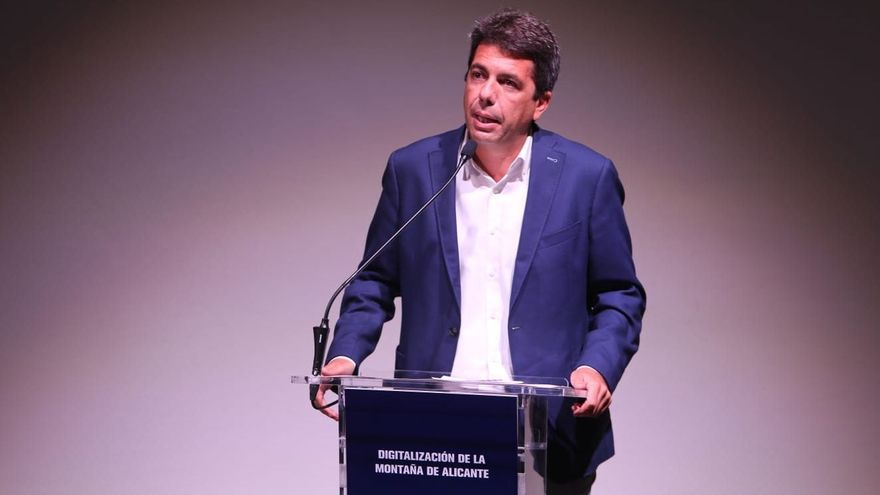 Mazón pide que se pondere la economía en las medidas para frenar la pandemia
