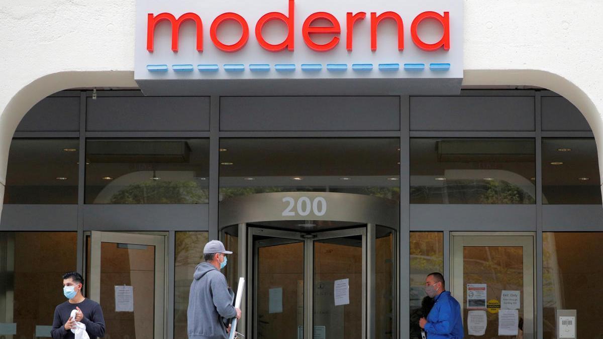 La sede de Moderna
