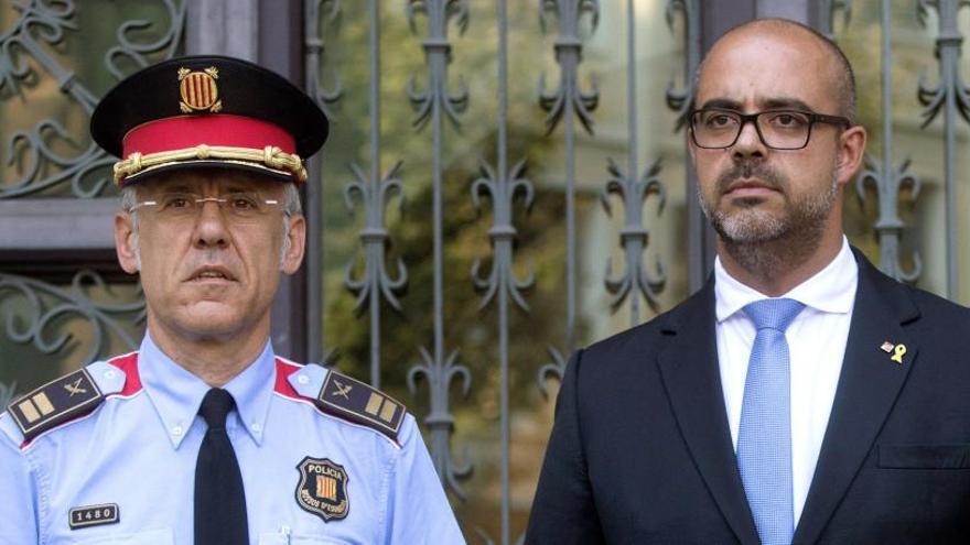 Buch cessa el surienc Miquel Esquius i posa Eduard Sallent com a cap dels Mossos
