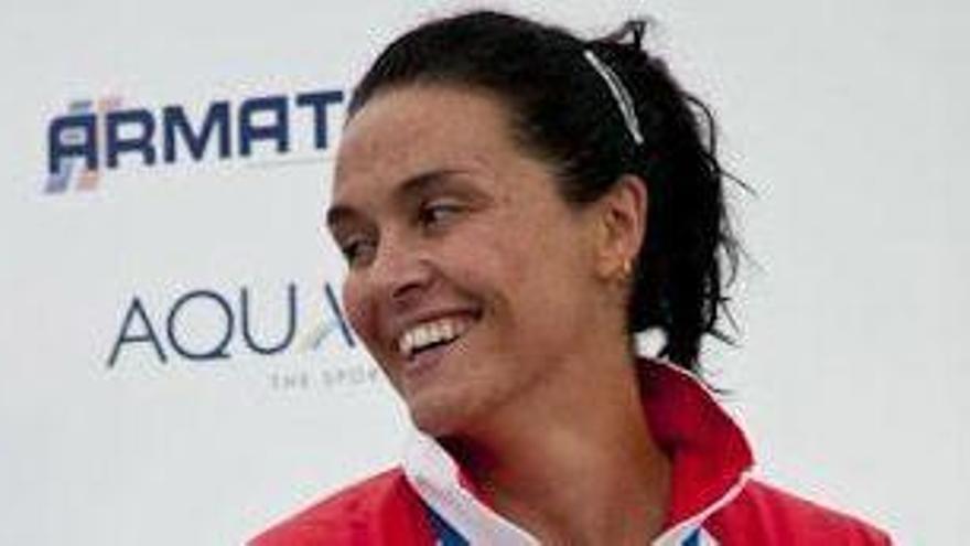La zamorana Susana Cordero también consiguió la medalla de bronce en el K-1.