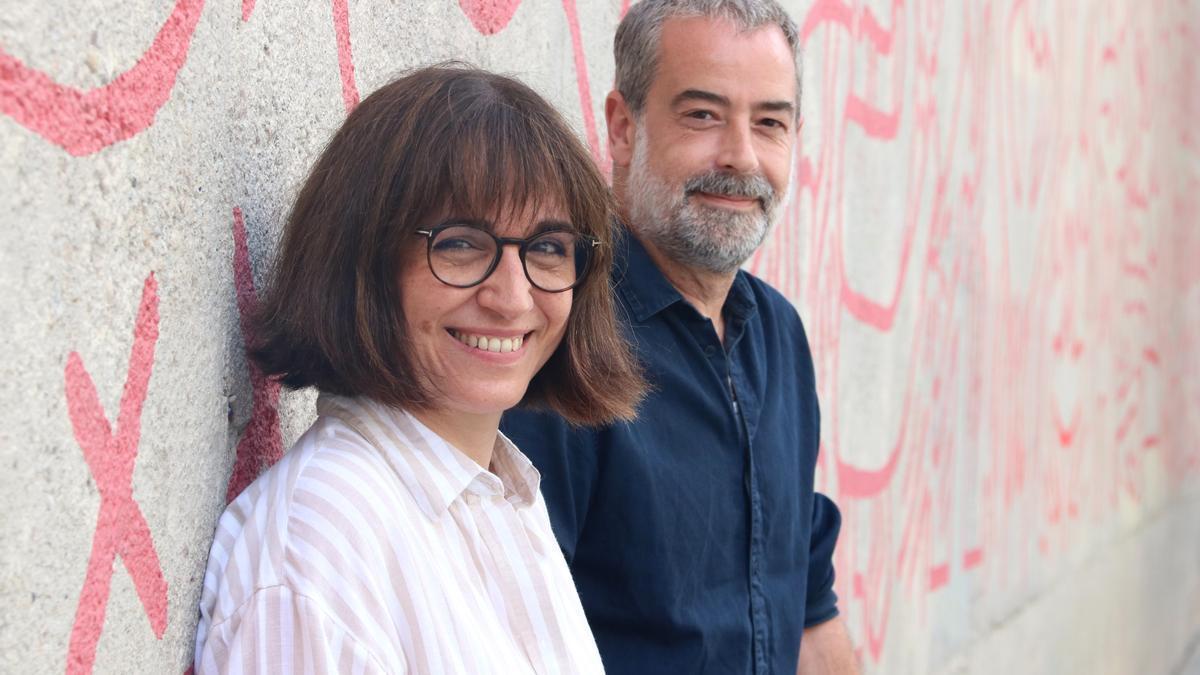 Judith Colell i Carlos Rodríguez,  presidenta i tresorer de la nova Junta de l'Acadèmia del Cinema Català