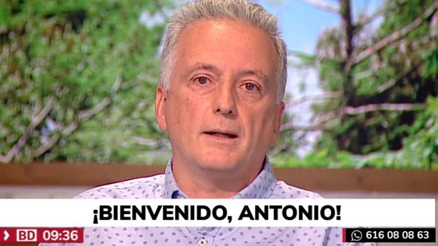 """Antonio López regresa a Telemadrid tras superar el Covid: """"Ha sido mi peor pesadilla"""""""
