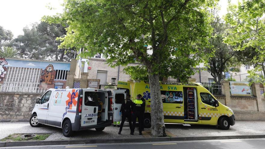 Accidente laboral en el edificio de la Congregación de las Madres Mercedarias de Zaragoza