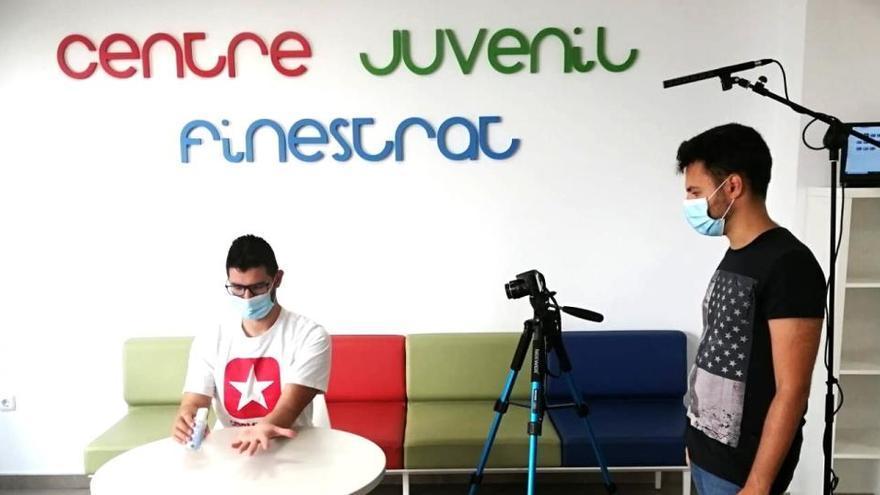 """Finestrat lanza una campaña """"online"""" para concienciar a los jóvenes del uso de la mascarilla"""