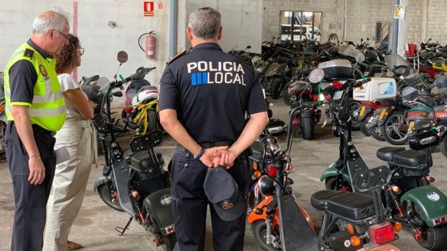 104 Anzeigen gegen Fahrer von E-Rollern im August in Palma
